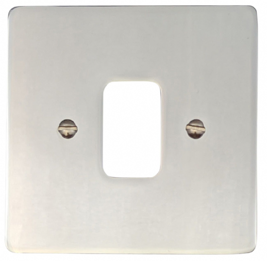 G&H Flat Plate Polished Chrome